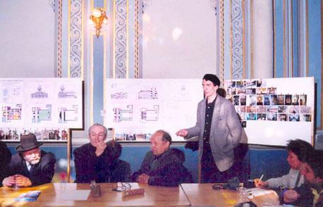Обсуждение проекта реставрации